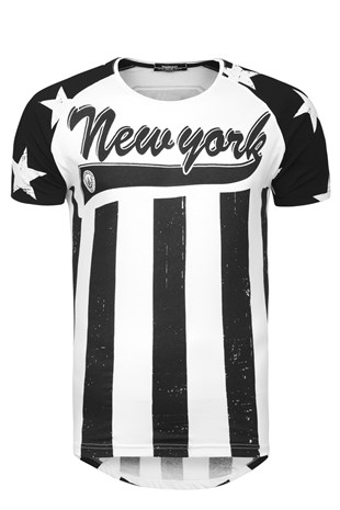 New York Print T-Shirt 1290