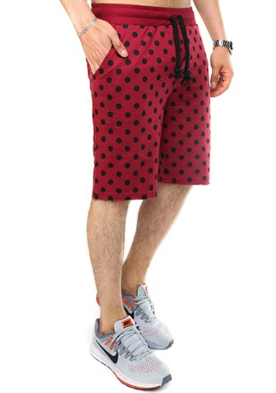 Madmext Claret Red Daily Capri for Men 2433