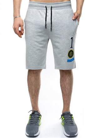 Madmext Casual Grey Shorts 2411