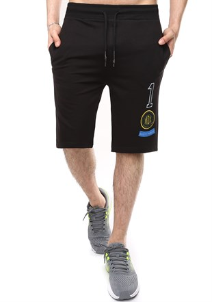 Madmext Casual Black Shorts 2411