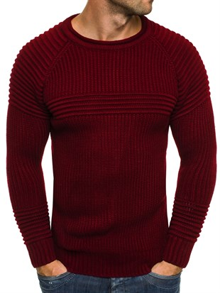 Madmext Claret Red Jumper 1561