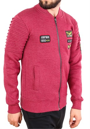 Madmext Bordo Sweatshirt 2196