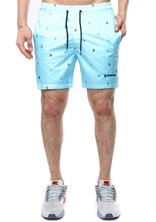 Madmext Ice Blue Swim Shorts 2375