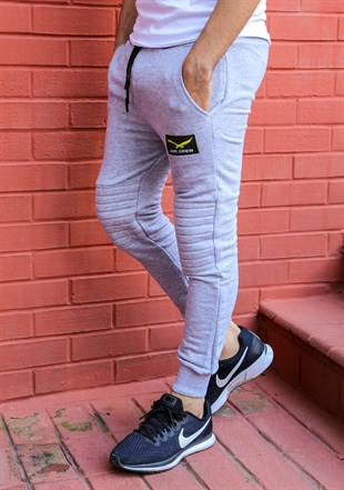 Madmext Slim Fit Grey Joggers 2089
