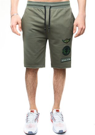 Madmext Men Daily Khaki Shorts