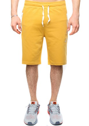 Madmext Mustard Color Casual Shorts 2419