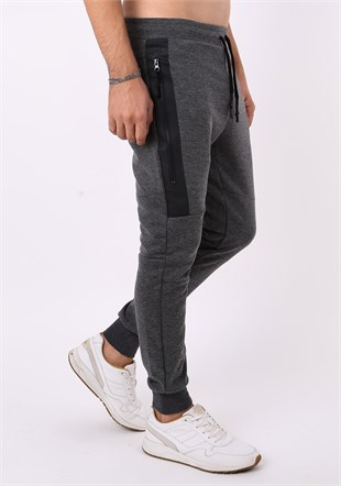 Madmext Smoked Sports Joggers 2082
