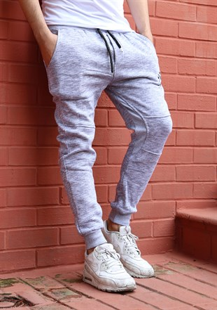 Madmext Casual Grey Joggers 1617