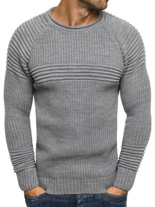 Madmext Grey Jumper 1561