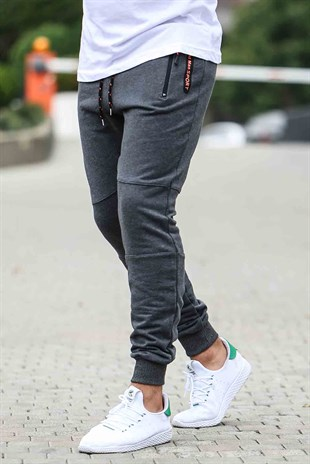 Madmext Casual Smoked Joggers 1607