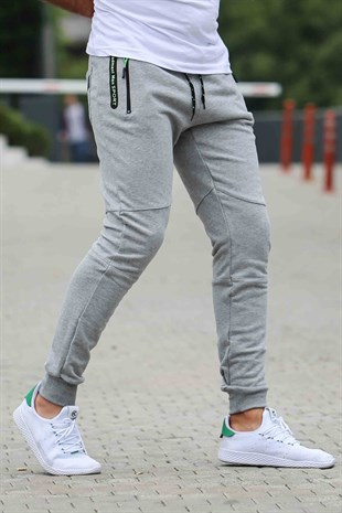 Madmext Casual Grey Joggers 1607