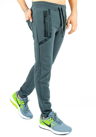 Madmext Casual Petrol Green Jogger 2078