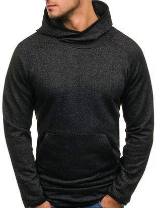 Madmext Hoodie In Anthracite 1685