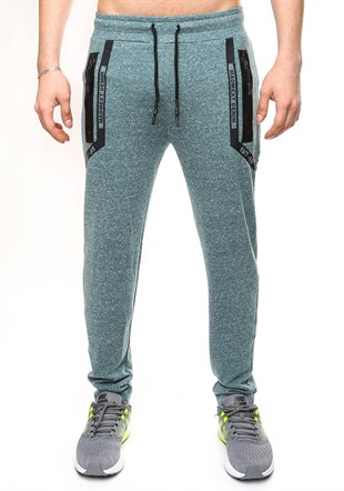 Madmext Casual Green Jogger 2078
