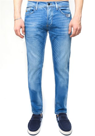 Madmext Blue Slim Fit Jean 3373
