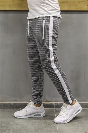 Madmext Striped Smoked Jogger 2703