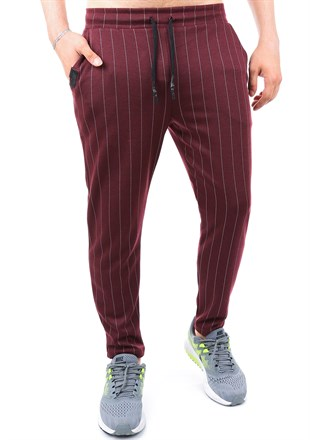 Madmext Skinny Burgundy Jogger 2700