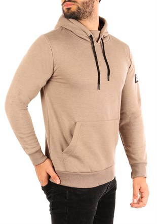 Kangaroo pocket Camel Hoodies 2753