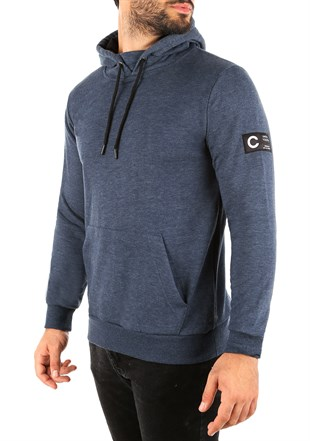 Kangaroo pocket Navy Blue Hoodies 2753