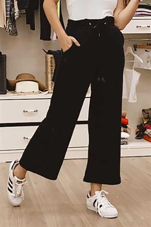 Mad Girls Black Oversize Sweatpants MG680
