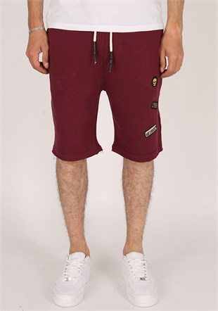 Madmext Claret Red Capri for Men  1808
