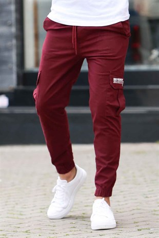 Madmext Bordo Jogger 4072