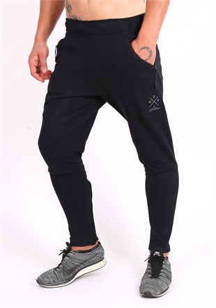 Madmext Navy Blue Joggers 2070
