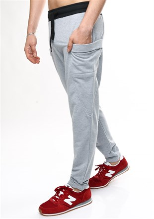 Mens Sweatpant In  Grey Color 1830