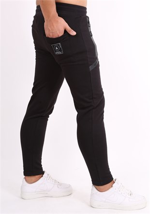 Madmext Casual Black Jogger 2078