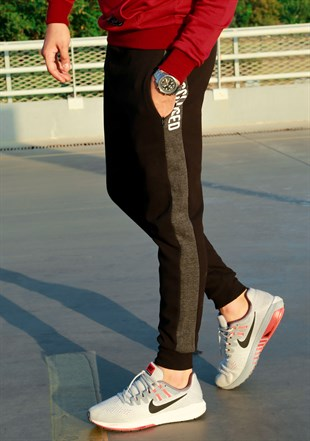 Mens Sweatpant In Black Color  2714
